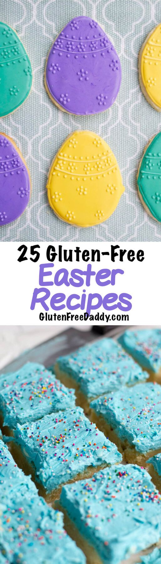I have 25 of the best ever gluten-free Easter recipes for you to make for your Easter party. I have tons of gluten-free Easter dessert and treat recipes.