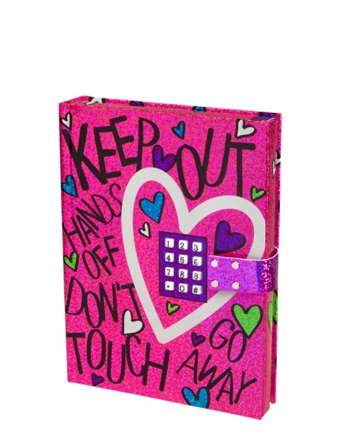 Electronic push code journal girls room decor beauty for Room decor justice