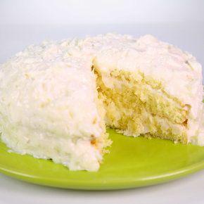 Carla Hall's  Coconut Layer Cake