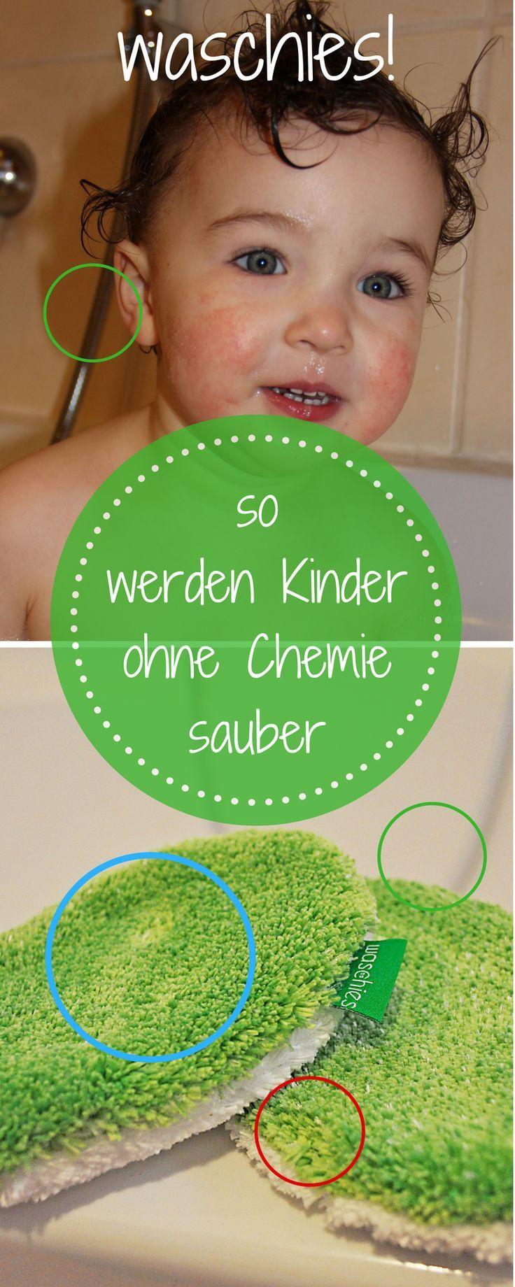 Waschies – Kinderhaut reinigen ohne Chemie