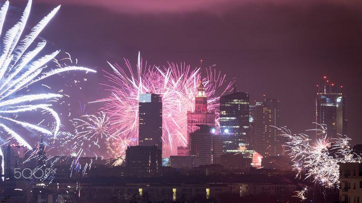 Happy 2017 form Warsaw - Happy New  Year from Warsaw