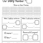Our Daily Number: Enhance your Go Math! or other Common Core Curriculum