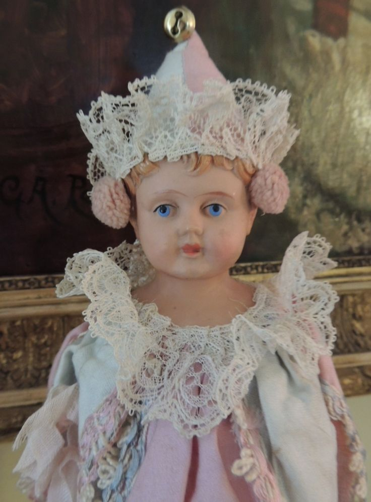 Antique Celluloid Marotte Doll, Germany | Ruby lane ...
