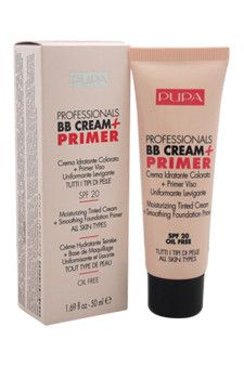 Professionals BB Cream + Primer SPF 20 - # 002 Sand - All Skin Types Pupa Milano 1.69 oz