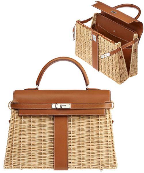 Hermes Picnic Bag just speaks summer <3