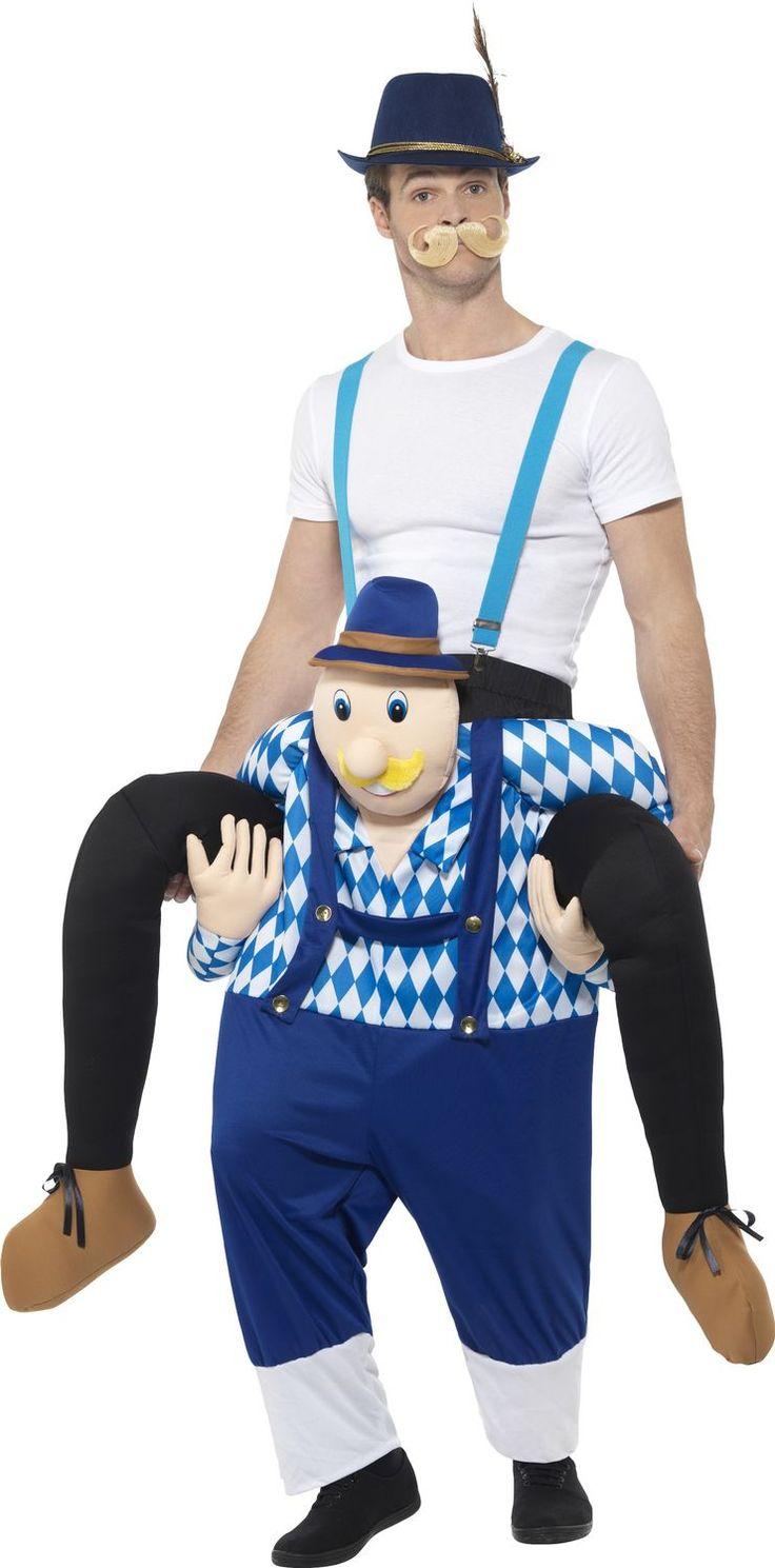 Oktoberfest-kaverin reppuselässä
