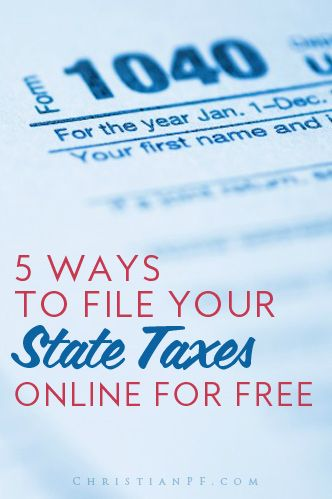 Best 25 income tax return ideas on pinterest file income tax 3 easy ways to file your state income tax online for free 2017 ccuart Image collections