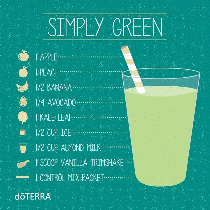 Start your day right with a Simple Green smoothie.