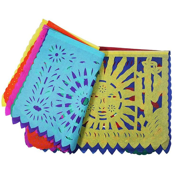 Day of the Dead Arts & Crafts Collection - Original Paper Party Banners - DOD219