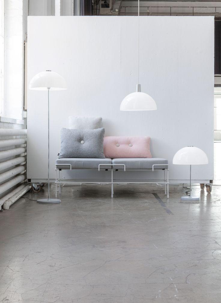 Innolux Kupoli product family. Design:Yki Nummi.