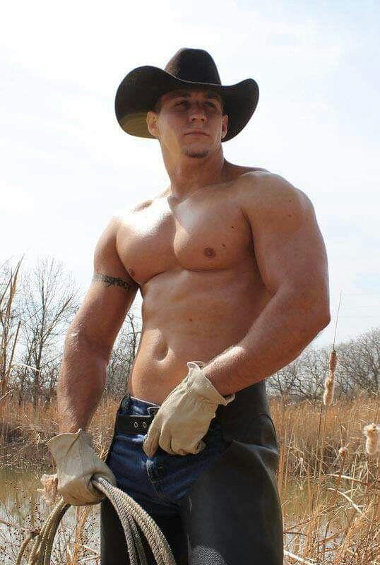 Naked cowboy big cock