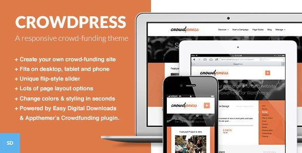 Get best crowdfunding wordpress theme 2013