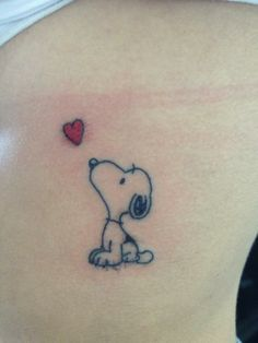 snoopy tattoo - Google Search
