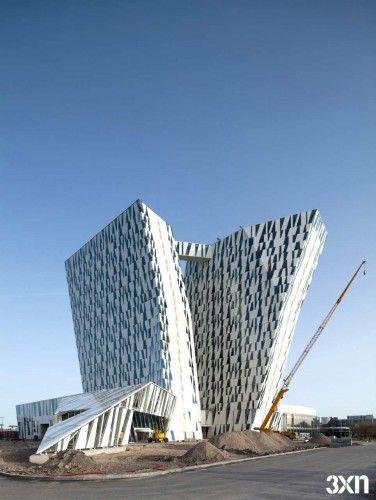 3XNs Bella Sky Hotel in Copenhagen / 3XN Architects #architecture ☮k☮