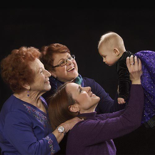 LOVE this 4 generations photo! I must do this with my family!