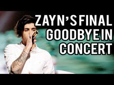 Zayn's Final Goodbye in Hong Kong OTRA (18.03.15) Best Song Ever - Last Time 5/5 Together - YouTube