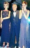 Gianni Versace - Ready To Wear - Spring Summer 1997 - Istanbul, Turkey. - 1997, May 6. - Eva Herzigova - Valeria Mazza - Carla Bruni - Santo Versace - Special Versace Fashion Show -