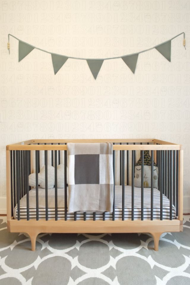 Project Nursery - Modern Two Tone Crib - Project Nursery