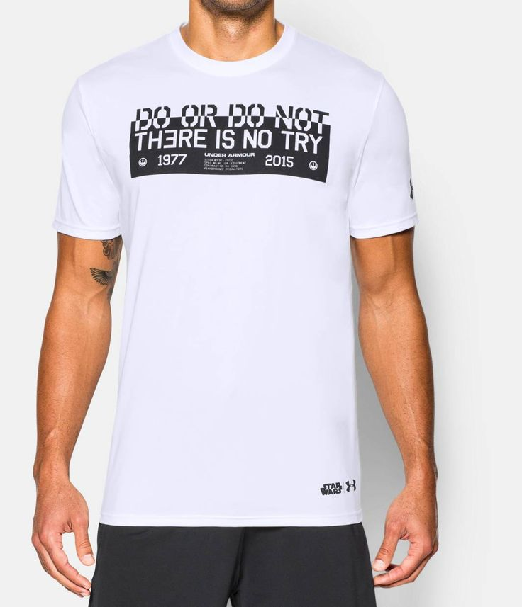 Shop Under Armour for Men's Star Wars UA Jedi Mantra T-Shirt in our Mens