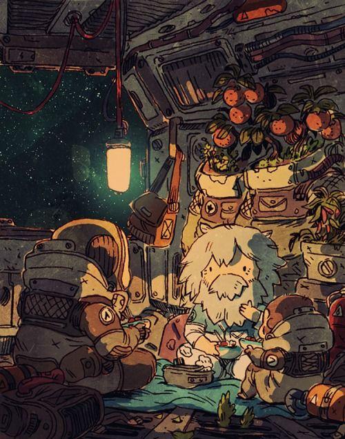 Space Travelers art