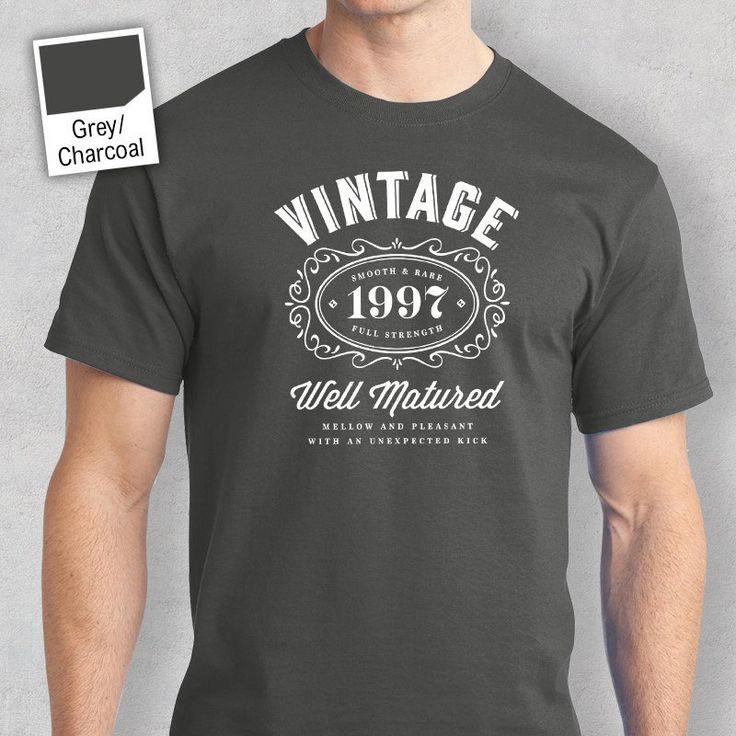20th Birthday, 1997 Birthday,20th Birthday Idea, Great 20th Birthday Present, 20th Birthday Gift.  20th Birthday Shirt For a 20 Year Old!
