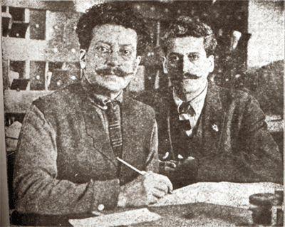 1910 - 1928 La Revolución Mexicana. Ricardo & Enrique FLORES MAGON
