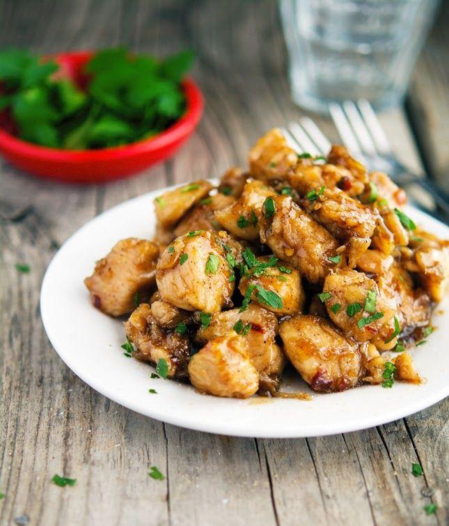 15-Minute Caramelized Black Pepper Chicken