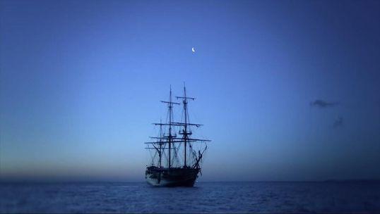Così rivive un antico vascello sommerso