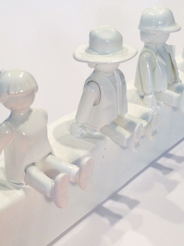 Selbermachen Garderobe Kinder Playmobil