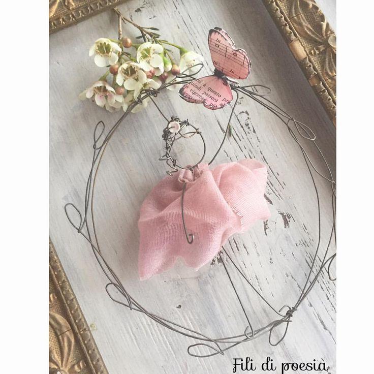 """""""Mi piace"""": 231, commenti: 20 - Daniela Corti•Wire & Textile (@filidipoesia) su Instagram: """"Grazie!!! Ve lo dico così, con grande semplicità ogni volta che incontro qualcuna di voi è…"""""""