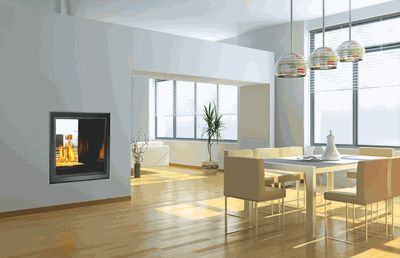 Ask a Fireplace Specialist:  With a Napoleon HD81 High Definition See Thru Direct Vent Gas Fireplace comfort and relaxation are available at the touch of a button.  Designed to be as easy to use as possible, this gas fireplace's convenience starts with its installation.  Because it can be configured more than one way, you can use this fireplace almost anywhere you've got the space.  This flexible fireplace also offers multiple looks so you have the ability to do what works best for you.Once…