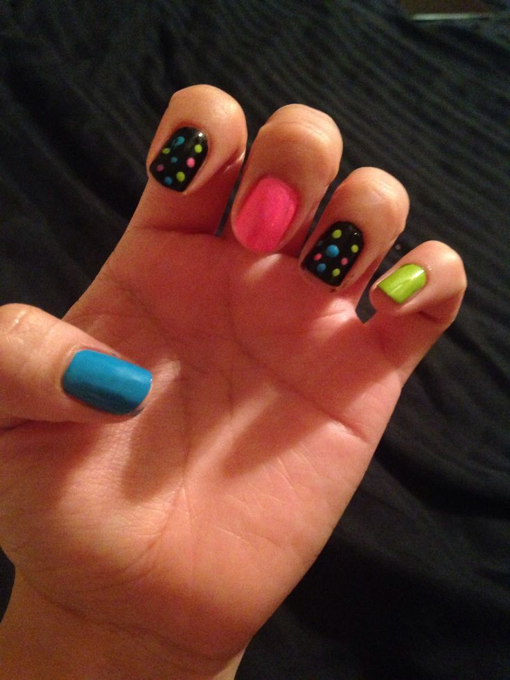 My 80's nails