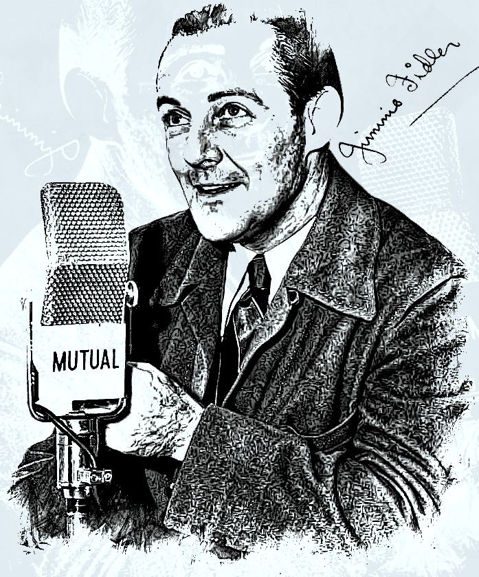 Jimmie Fidler was an American columnist, journalist and radio and television personality. He wrote a Hollywood gossip column and was sometimes billed as Jimmy Fidler