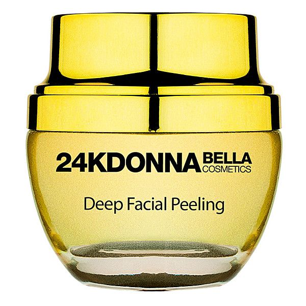 Donna Bella 24K Deep Facial Peeling ($33) ❤ liked on Polyvore featuring beauty products, skincare, face care, face masks, moisturizing facial mask, hydrating face mask, facial peel mask, moisturizing face mask and hydrating facial mask