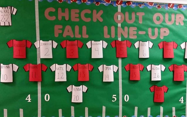 15 Extraordinary Soccer Bulletin Board Ideas