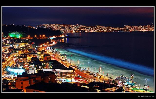 Desde Reñaca a Valparaiso