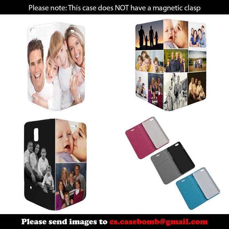 Fully Personalised Custom Printed Photo Gift Flip Phone Case Cover