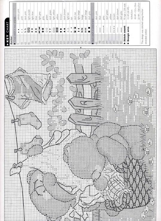 Gallery.ru / Фото #1 - The world of cross stitching 009 август 1998 - WhiteAngel