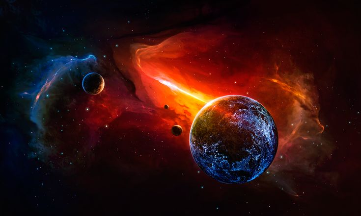 Outer Space Illustrated on Behance by Stefan Hürlemann