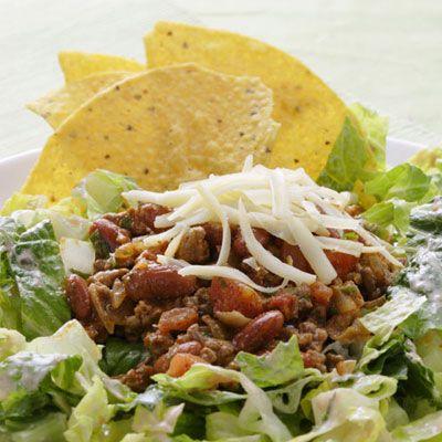 Tex-Mex Taco Salad-Salad Recipes - Delish.com
