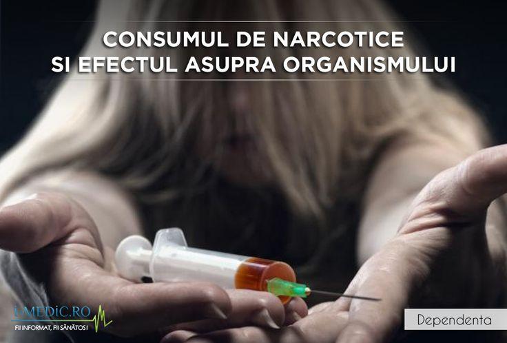 Narcoticelesau opiatele, asa cum mai sunt ele cunoscute, reprezinta o clasa de medicamente administrata de cele mai multe ori pentru ameliorarea durerilor de la nivelul organismului, indiferent de natura acestora. http://www.i-medic.ro/tutun-alcool-droguri/consumul-de-narcotice-si-efectul-asupra-organismului