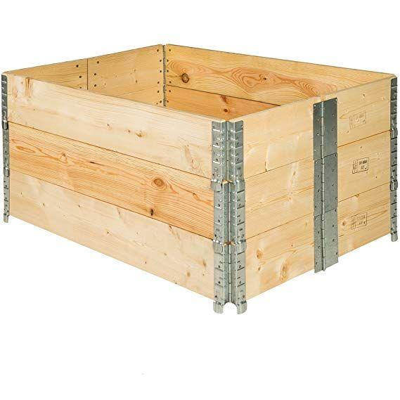 Tectake Hochbeet Rahmen Faltbar 120 X 80 X 19 Cm Diverse Mengen 3x Hochbeet Nr 402272 Amazon De Garten