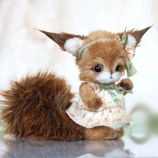 squirrel Mary by By Anna Volkova | Bear Pile