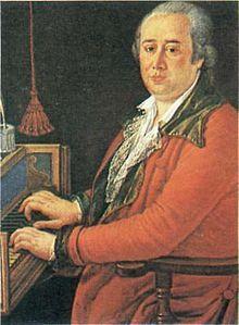 Domenico Cimarosa (Italian: [doˈmeːniko tʃimaˈrɔːza]; 17 December 1749, Aversa, Province of Caserta – 11 January 1801, Venice) was an Italian opera composer of the Neapolitan school. He wrote more than eighty operas during his lifetime, including his masterpiece, Il Matrimonio Segreto (1792).