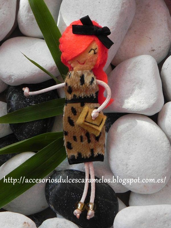 Doll Felt, leopard dress