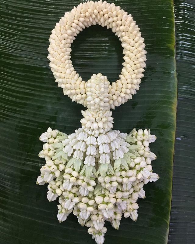 พวงมาลัยมะลิ: 913 Best Thai Garlands Style Images On Pinterest