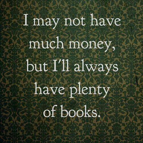 Repin if you can't resist buying new books! #readinghumor http://writersrelief.com/