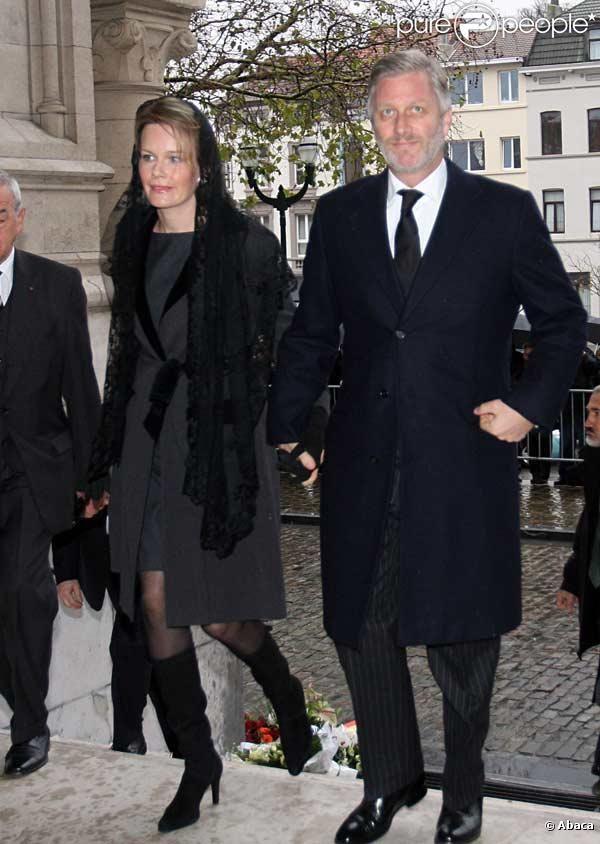 PHOTOS - La Princesse Mathilde et son mari le Prince Philippe de Belgique aux…