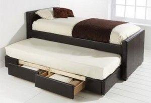 Pine Log Bed Frame