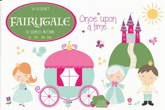 Fairytale by Poppymoondesign on @creativemarket